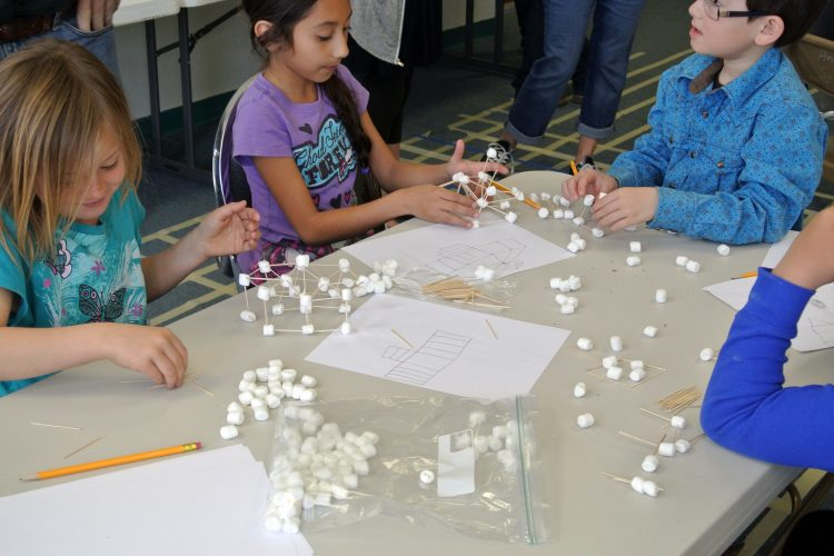 Marshmallow design challenge