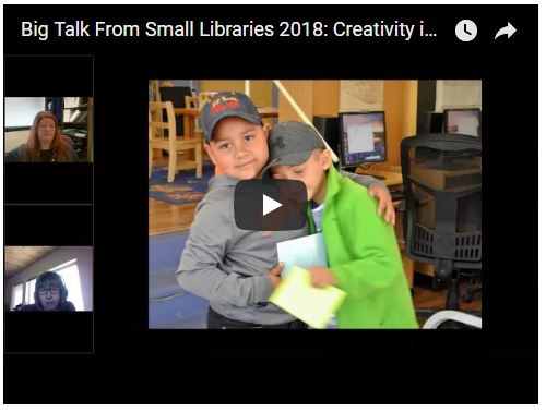 "Presentation for ""Big Talk From Small Libraries"""